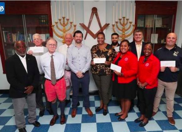 Freemasons donate to charity